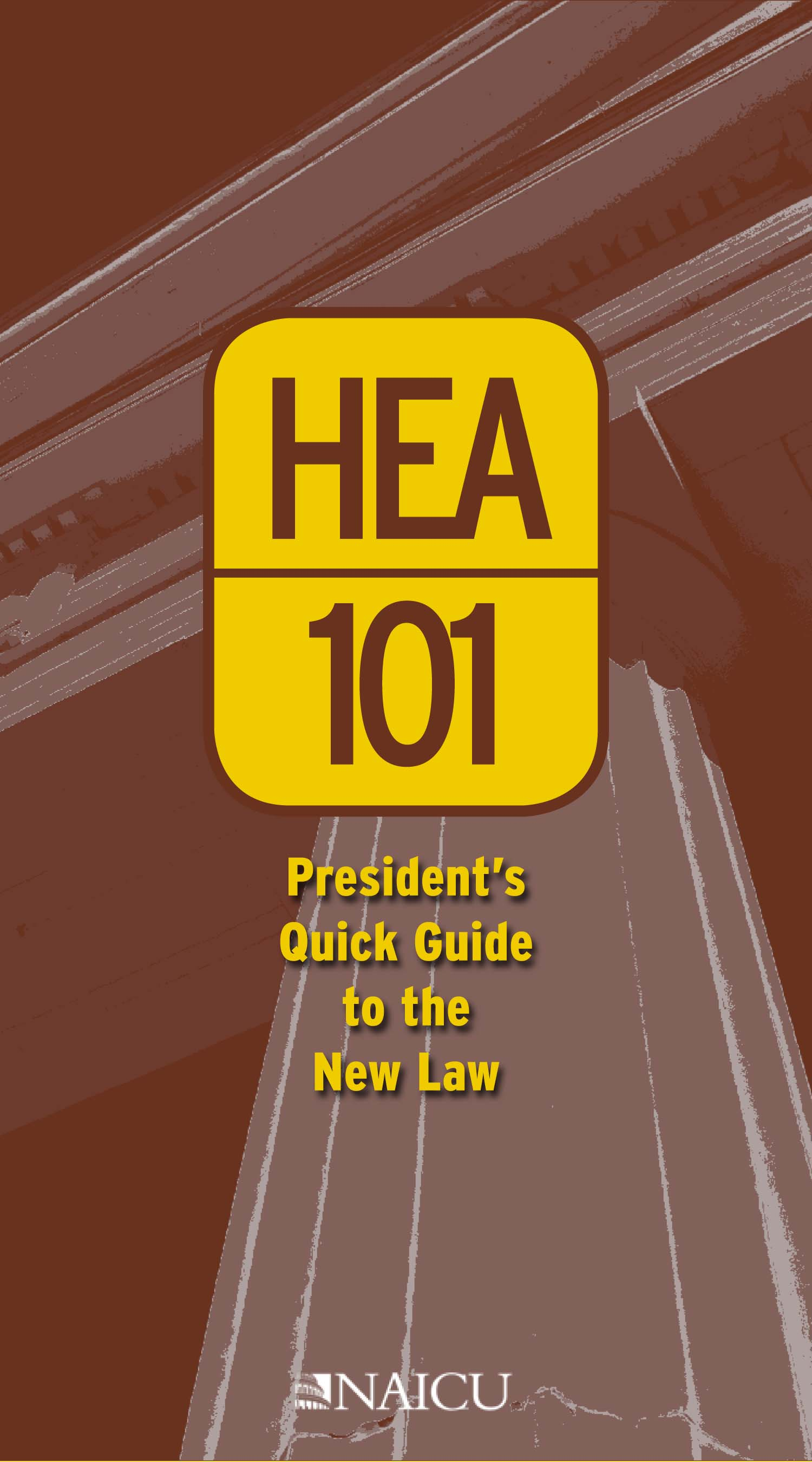 HEA 101 Quick Guide Cover